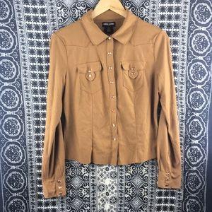 Guess Western Button Down Shirt
